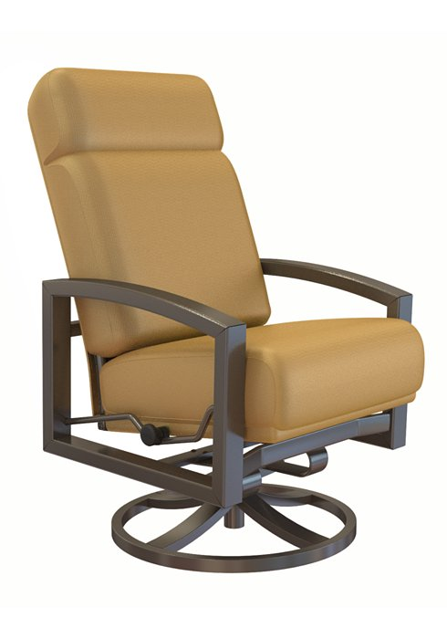patio petite swivel action lounger