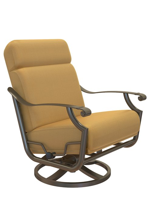 cushion swivel outdoor action lounger