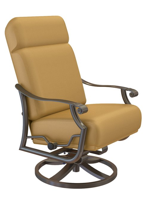 outdoor petite swivel action lounger