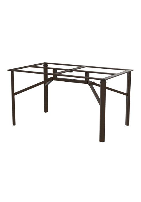 rectangular outdoor counter height base