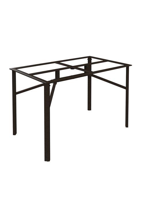 outdoor rectangular bar table base