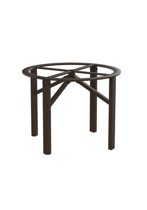 round patio dining table base