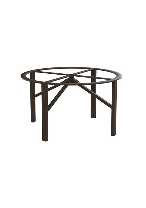 modern outdoor round dining table base