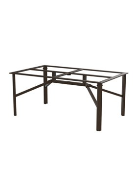 patio rectangular dining table base