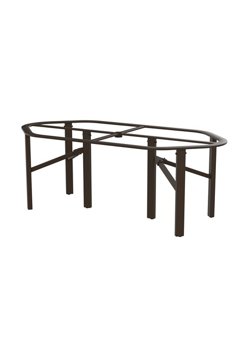outdoor aluminum dining table base