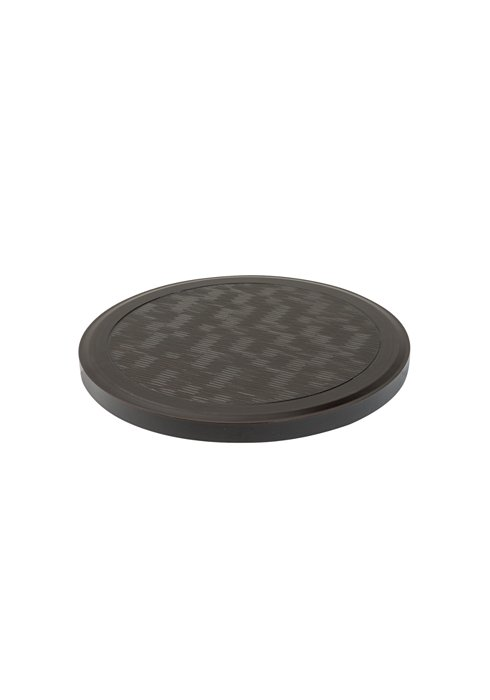 patio round textured table top