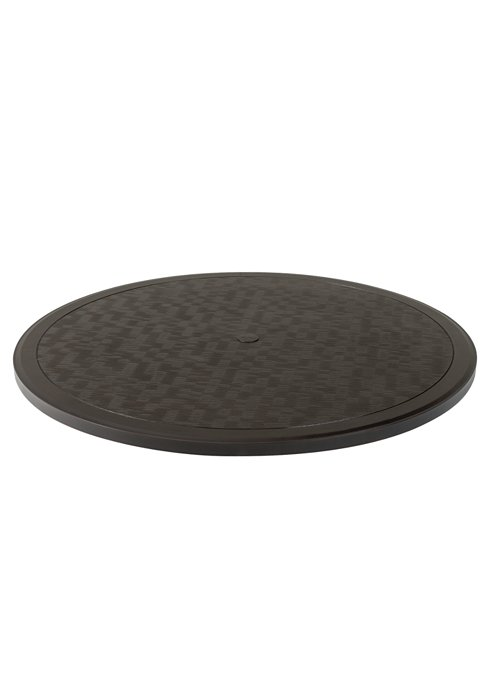 table top outdoor rounded with umbrella hole