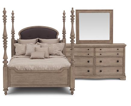 Ashdale Poster Bedroom Set - Furniture Row