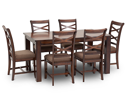 Baltimore 7 Pc. Dining Room Set - Furniture Row