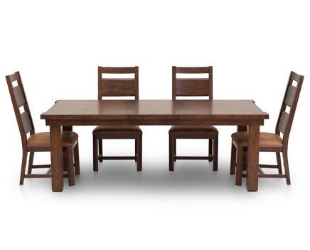 bear creek 5 pc. dining room set - furniture row