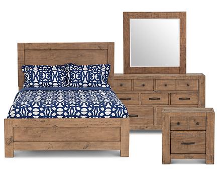Catalina Panel Bedroom Set - Furniture Row