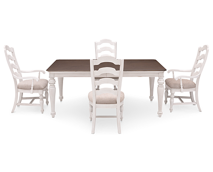 Cottage Lane 5 Pc. Rectangle Dining Room Set - Furniture Row