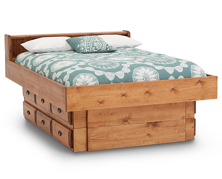 Dexter Cove 12 Drawer Underdresser Waterbed
