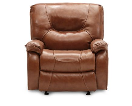 Preferred Elias Leather Recliner - Furniture Row MW53