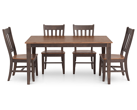 Rectangle Dining Room Set Full Screen Rollover To Zoom