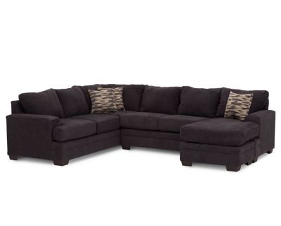 Imperial 3 Pc Sectional with Reversible Chaise Furniture Row