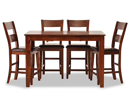 Montego 5 Pc. Counter Height Dining Room Set - Furniture Row