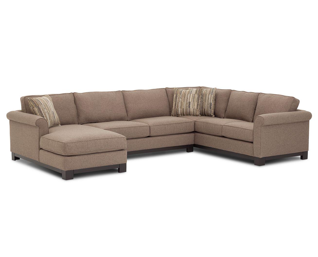 Sarah 3 Pc. Sectional - Furniture Row