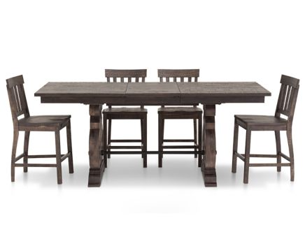 sedona 5 pc. counter height dining room set - furniture row
