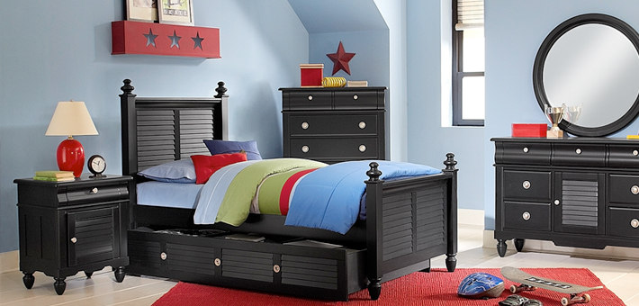 kid full size beds value city furniture and mattresses. Black Bedroom Furniture Sets. Home Design Ideas