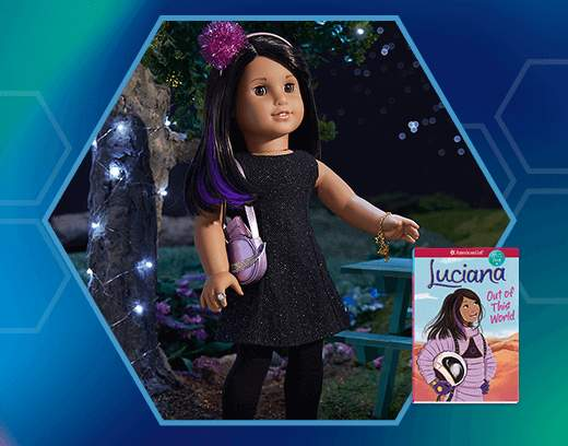 Luciana's eyes are still set on the stars for her next adventure