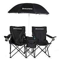 Vacation Chair with Speakers w/white Firestone Logo