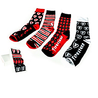 Custom Firestone Socks- 4 Pack