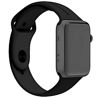 Series 3 - Apple Watch GPS, 42mm Space Grey Case w/Black Sport Band