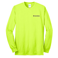 Safety Green Long Sleeve Core Blend Tee