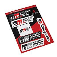 Toyota GAZOO Racing & GR Supra Sticker Pack