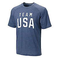 Men's TriBlend Olympic Tee