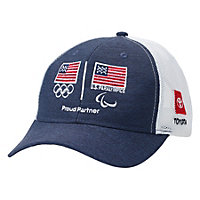 Olympic Series Dark Trucker Mesh Cap