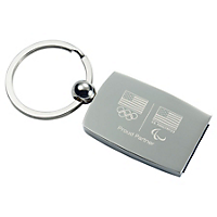 Olympic Carbon Fiber Key FOB