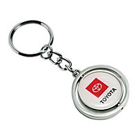 Spinner Key Ring- 2 sided