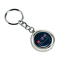 Spinner Key Ring- 2 sided