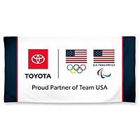 Proud Partner Beach Towel