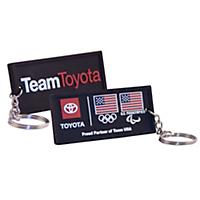 Team Toyota Keychain