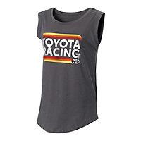 Toyota Racing Ladies Cap-Sleeve Crew
