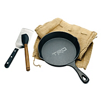 Cast Iron Skillet Camping Set