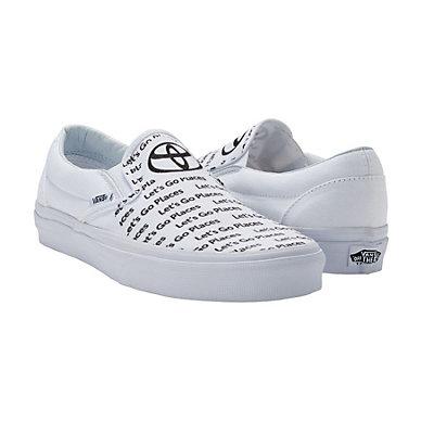 ed0d20331f2d Vans Custom Shoes Men s White