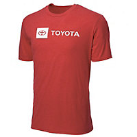 Easygoing Red Tee