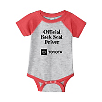 Backseat Driver Onesie - 6 months