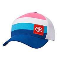 Ladies Bright Stripe Cap