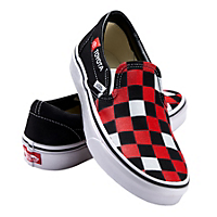 Toyota Ladies Checkerboard VANS