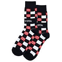 Toyota Checkerboard Socks