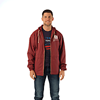 Weatherproof Hooded Rain Jacket