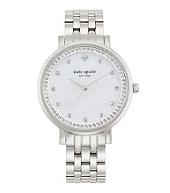 kate spade new york® Silvertone Monterey Stainless Steel Watch