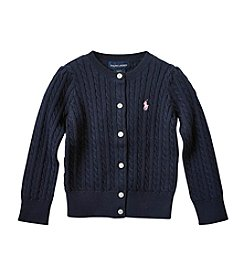 Polo Ralph Lauren® Girls' 2T-4T Pull Over Cardigan Sweater