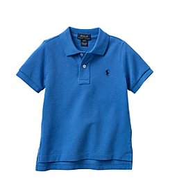 Polo Ralph Lauren® Boys' 2T-4T Blue Short Sleeve Polo