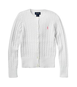 Polo Ralph Lauren® Girls' 7-16 Pull Over Cardigan Sweater